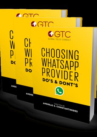 choosing whatsapp provider morethan160